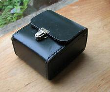 empty case for Ihagee Exakta rectangular 49mm & 40.5mm screw in metal lens hoods