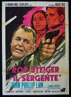 M100 Manifesto 2F Die Sergeant Rod Steiger John Phillip Gesetz Ludmilla Mikael