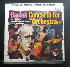 Bartok, Kubelik - Concerto For Orchestra / Two Portraits, Op. 5 LP VG+ SG-7186