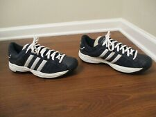 Classic 2004 Used Worn Size 11.5 Adidas Superstar 2G Suede Upper Shoes Navy SS2G