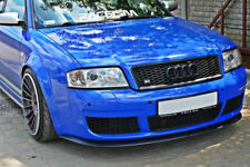 RS 6 Front Bumper Lip Cup Skirt Lower spoiler Chin Valance Splitter Extension