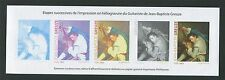 FRANCE EPREUVE DE LUXE COULEUR LUXUSBLOCK MALEREI PAINTING GUITAR GREUZE z1201
