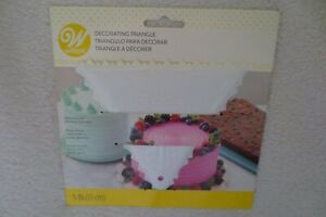Wilton Decorating Triangle Icing Decorating Tool 5in New