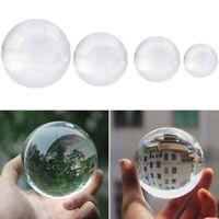 Color Transparente Bola de Cristal Esfera de Cristal Curación Fotografía Ap L1C5