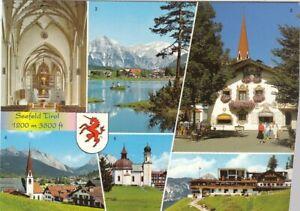 Seefeld, Tirol, Mehrbildkarte ngl G0853