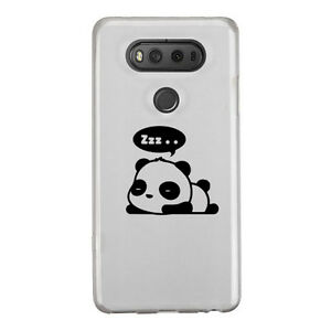 Cute Sleeping Panda Sticker Die Cut Decal for mobile cell phone Smartphone Decor