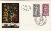 Austria 1969 Holy 500 Year Illust. Wien Slogan Cancel Stamps FDC Cover Ref 35047