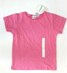 Circo Girl's 100% Cotton Short Sleeve T-Shirt, Blue, Pink - Sizes: XS, S, M, L
