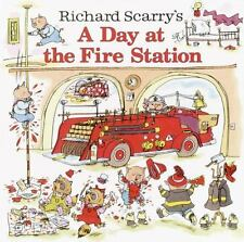 Pictureback: A Day at the Fire Station by Richard Scarry and Huck Scarry 2003