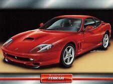 Ferrari Maranello 1996 Dream Cars Prospekt Poster Autoprospekt Atlas Verlag Auto
