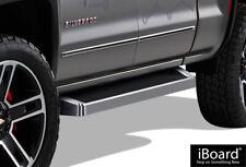 iBoard Running Boards Style Fit 07-18 Silverado Sierra Double Cab