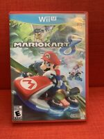 Mario Kart 8 Nintendo Wii U Mint Disc Adult Owned
