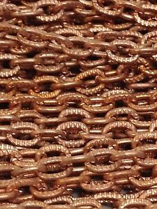 Copper Necklace Chains lot of 34