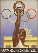 Jeux olympiques Berlin consti-partenkirchen cahier 11 1936