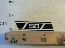STICKER,DECAL 50 YAMAHA ? WHITE NUMBERS AND STRIPES OR ZUNDAPP ? D