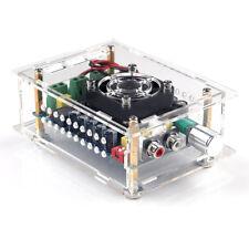 TDA7498 2*100W Car Digital Power Amplifier Board Class D Dual Audio AcrylicCase