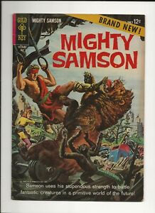 MIGHTY SAMSON #1 1964 GOLD KEY SILVER AGE SCI-FI COMIC 1ST ISSUE FN/VF