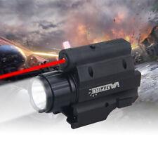 Tactical Combo XPG-R5 RED Laser Sight LED Flashlight Picatinny Rail for Hunting