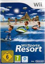Original Nintendo Wii +Wii U SPORTS RESORT 12 Sportarten DEUTSCH Neuwertig