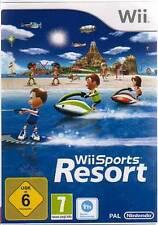ORIGINALE Nintendo Wii + Wii U Sports Resort 12 Sport tedesco come nuovo
