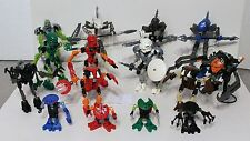 Lego Bionicles ~ 15 sets with instructions - Nice Collection 8532,34,35,56 +