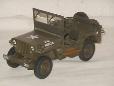 UT - METALLMODELL - 1:18 SCALE - WILLY`S JEEP US ARMY WILLYS