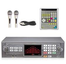 Taijin TJ Media TKR-365HK Home Korean Karaoke Machine - Wire 2Mic + Big Remote