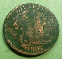 1807 Large Cent   #LC07