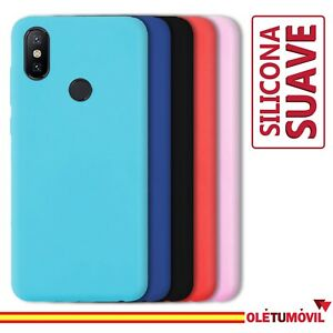 Funda Xiaomi Mi A2 Carcasa Silicona Suave Flexible