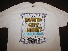 ACL 2006 t shirt XL austin city limits music festival fest the shins tom petty