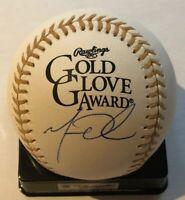 Matt Olson Oakland Athletics Signed Autographed Gold Glove Baseball