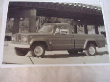 1967 JEEP PICKUP J200   11 X 17  PHOTO  PICTURE