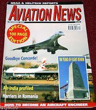 Aviation News 2003 December Concorde,Air India