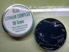 BLUE LITHIUM COMPLEX GREASE EP 50G Tin WATER AND CORROSION RESISTANT MARINE USE