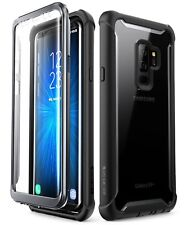 Samsung S9 Plus Case Dual Layer Built in Screen Protector Military Tough Cover
