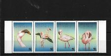 ANGOLA SG1402/5, 1999 FLAMINGOES MNH