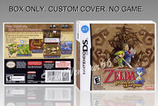 NINTENDO DS : ZELDA PHANTOM HOURGLASS . ENGLISH. COVER + BOX. (NO GAME).