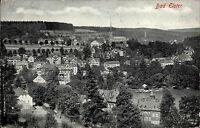 Bad Elster Sachsen Vogtland s/w Ansichtskarte 1930 gelaufen Gesamtansicht Kirche