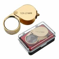 30 X 21mm Loupe Jewelry Magnifier Glass Antiques For Coins Stamps With Box j