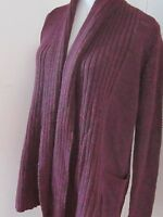 anthropologie pins & needles maroon red wool cardigan sweater XS or 4