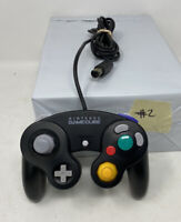 Nintendo GameCube Controller Black OEM Game Cube DOL-003 AUTHENTIC, Tested