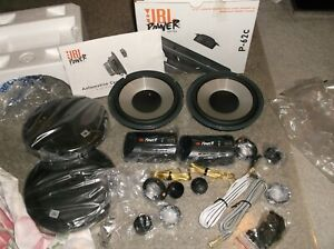 "OLD SCHOOL JBL P-62c SPEAKERS!!  RARE 6.5"" COMPONENTS!!  JBL POWER SERIES!!  USA"
