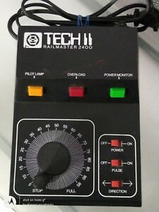 MRC TECH II RAILMASTER 2400 HO/N SCALE TRANSFORMER / CONTROLLER W/PULSE TESTED