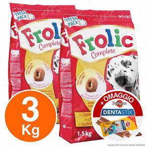 Frolic Cibo Semi Umido per Cani con Carni Bianche, Verdure e Cereali - 3KG