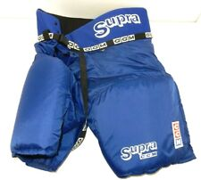 Nos Supra Ccm Bhp210 Blue Padded Ice Hockey Pants (No Laces) Size: Junior Large