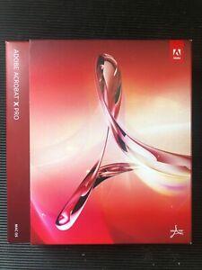Adobe Acrobat X Pro Mac OS