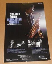 Charles Lloyd Manhattan Stories Poster Original Promo 11x17