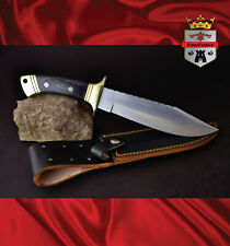 023C high carbon bowie KingForge hunting knife bush knives tactical survival