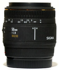 Sigma EX AF 50mm f/2.8 1:1 Macro Lens Minolta Maxxum /Sony A900