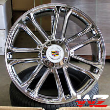 24 CA83 Style Chrome Platinum Wheels Fits Cadillac Escalade ESV EXT Rims 6x139.7
